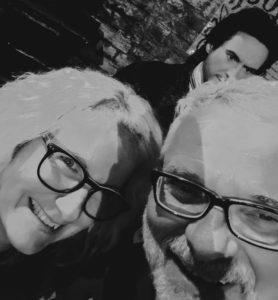 Eva and Klaus Kormann in London