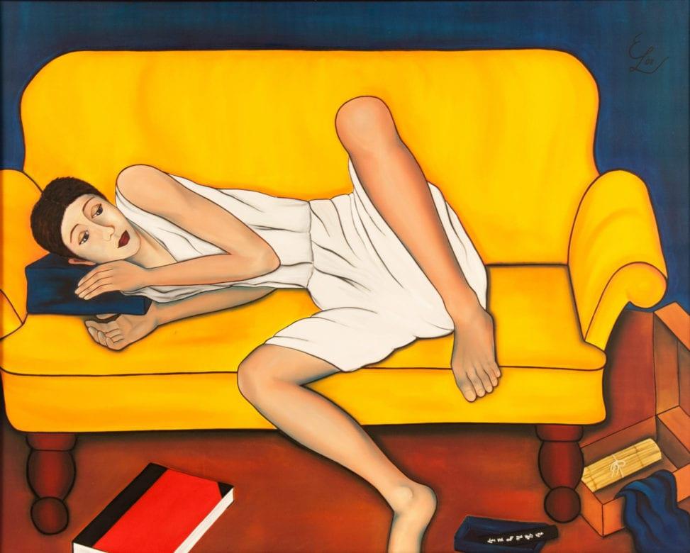 Camille - Malen oder Putzen. #EineMalerinSiehtLiteratur